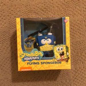 Flying Spongebob Toy